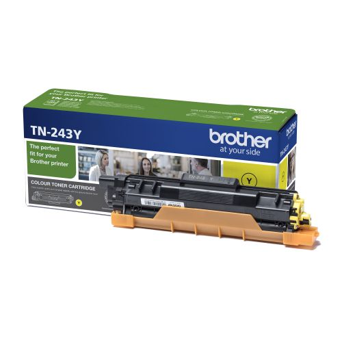 BROTHER TN243Y TONER CARTRIDGE YELLOW