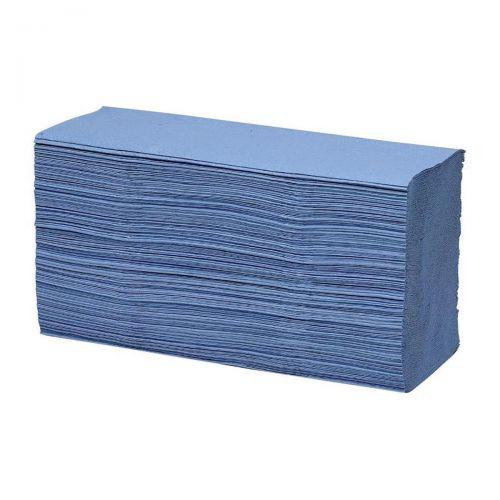 Maxima Blue 1-Ply Z-Fold Hand Towel Pk15