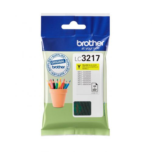 BROTHER LC3217Y YELLOW INKJET CARTRIDGE