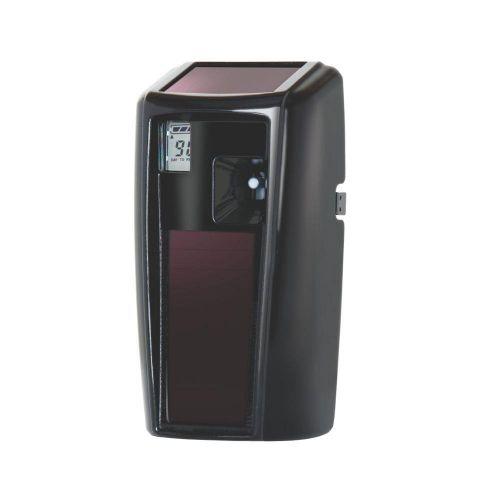 Rubbermaid Microburst 3000 LumeCel Air Freshener Dispenser Light-powered Black Ref 1955228