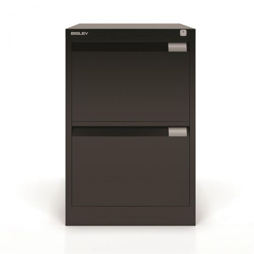 Bisley Filing Cabinet 2 Drawer 470x622x711mm Ref 1623-av1