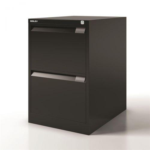 Bisley Filing Cabinet 2 Drawer 470x622x711mm Ref 1623-av1