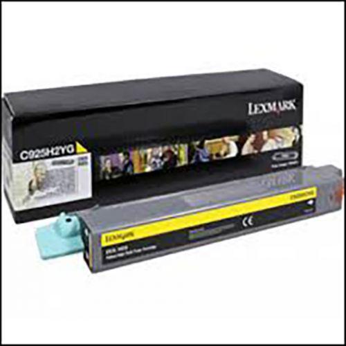 Lexmark C925H Laser Toner Cartridge High Yield Page Life 7500pp Yellow Ref C925H2YG