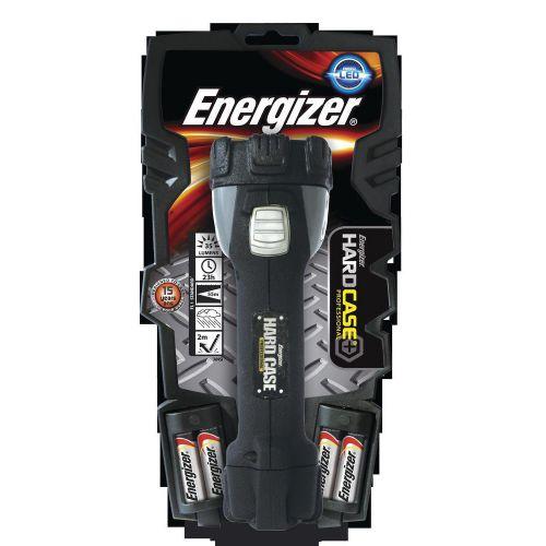 Energizer Hardcase Pro 4AA Torch 4 Super Bright LEDs 23hr Weatherproof Shatterproof Lens Ref 630060