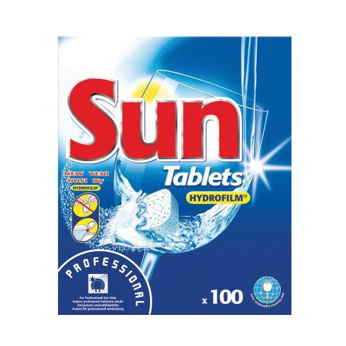 Sun Dishwasher Tablets Professional Classic Ref 1002137 [Box 100]