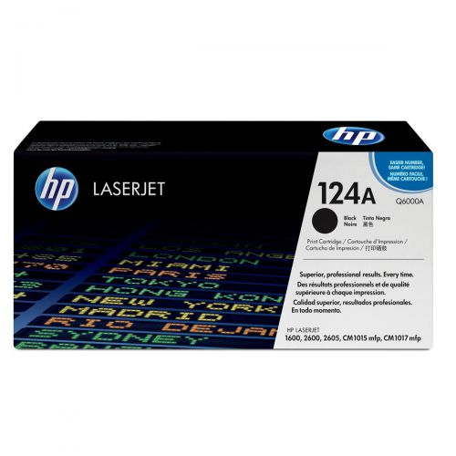 HP 124A Laser Toner Cartridge Page Life 2500pp Black Ref Q6000A