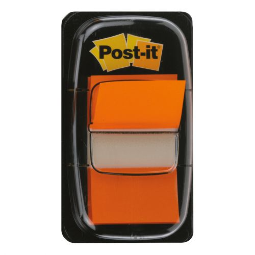 Post-it Index Flags 50 per Pack 25mm Orange Ref 680-4 [Pack 12]