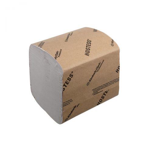 Hostess Toilet Tissue Bulk Folded 186x108mm 520 Sheets per sleeve 1-ply White Ref 4471 [Pack 36]