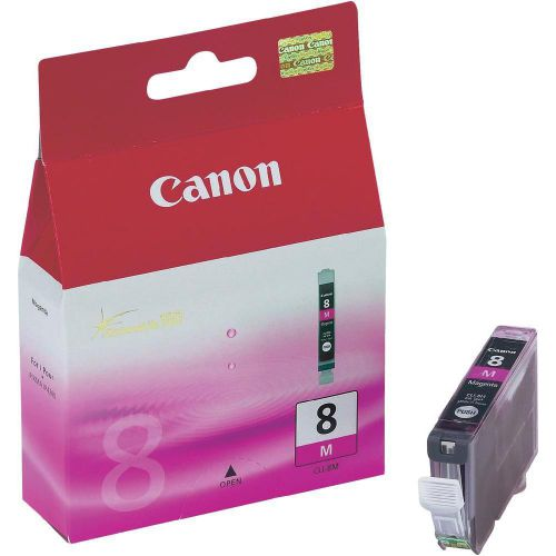Canon CLI-8M Inkjet Cartridge Page Life 565pp 13ml Magenta Ref 0622B001