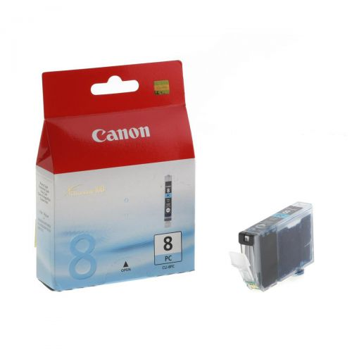 Canon CLI-8PC Inkjet Cartridge Page Life 198pp 13ml Photo Cyan Ref 0624B001