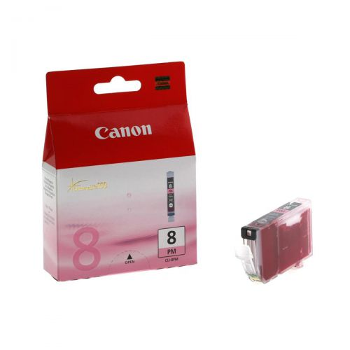 Canon CLI-8PM Inkjet Cartridge Page Life 146pp 13ml Photo Magenta Ref 0625B001