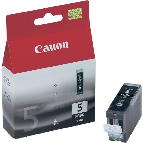 Canon PGI-5BK Inkjet Cartridge Page Life 505pp 26ml Black Ref 0628B001