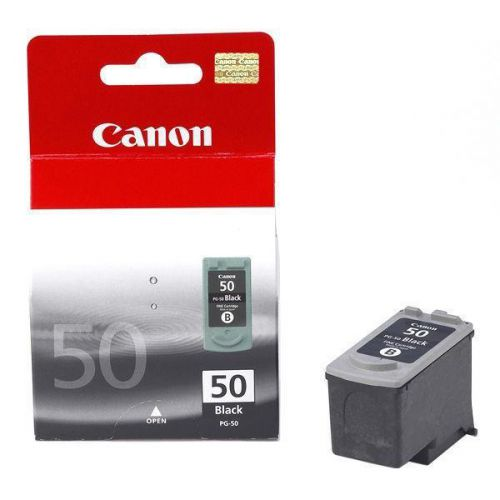 Canon PG-50 Inkjet Cartridge High Yield Page Life 750pp 22ml Black Ref 0616B001