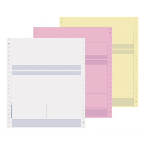 Pegasus Compatible Invoice and Purchase Order 3 Part W241xH279mm Ref PS03 [Box 500]