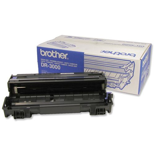 Brother Laser Drum Unit Page Life 20000pp Black Ref DR3000