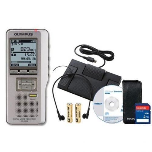 Olympus DS2500 AS2400 Starter Kit                            Starter Kit USB 2GB Ref DS2500AS2400