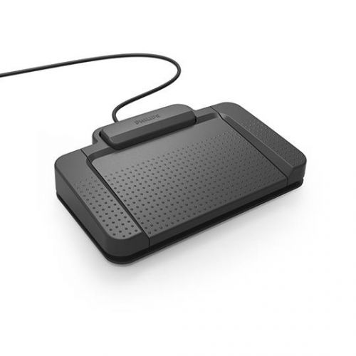 Philips LFH2330 Digital Dictation Foot Control Ergonomic Slim Anti-slip Ref ACC2330