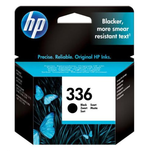 Hewlett Packard [HP] No.336 Inkjet Cartridge Page Life 220pp 5ml Black Ref C9362EE