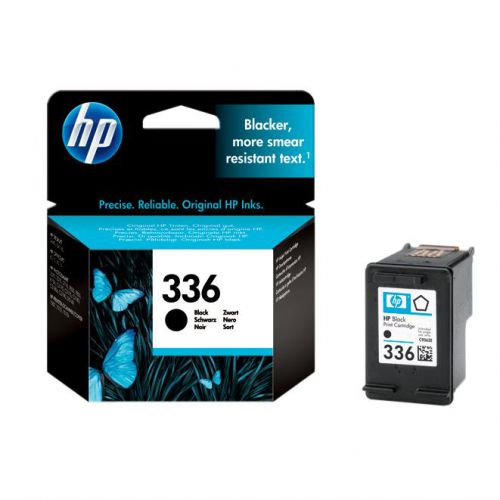 Hewlett Packard [HP] No.336 Inkjet Cartridge Page Life 220pp 5ml Black Ref C9362EE