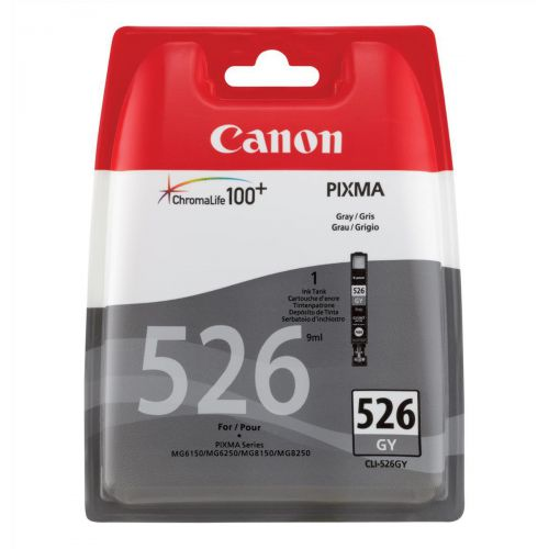 Canon CLI-526GY Grey Inkjet Cartridge