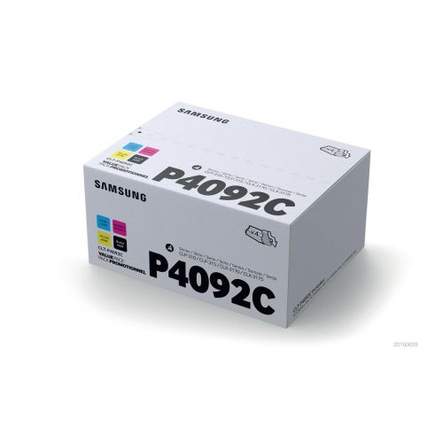 Samsung Laser Toner Value Pack Page Life 4500pp Black/Cyan/Magenta/Yellow Ref CLT-P4092C/ELS [Pack 4]