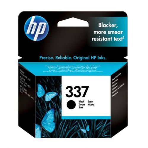 Hewlett Packard [HP] No.337 Inkjet Cartridge Page Life 420pp 11ml Black Ref C9364EE