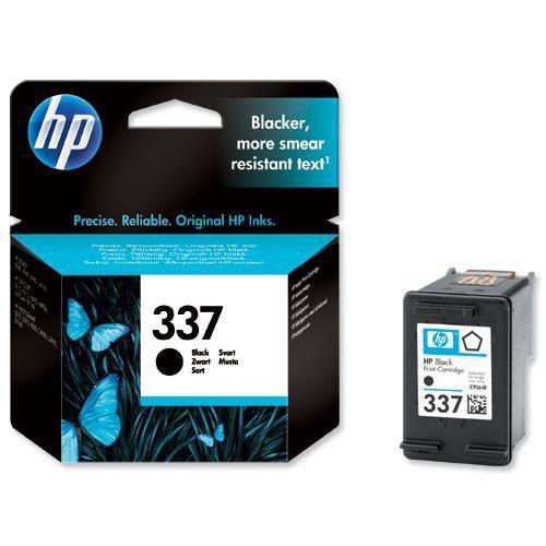 Hewlett Packard [HP] No.337 Inkjet Cartridge Page Life 420pp 11ml Black Ref C9364EE
