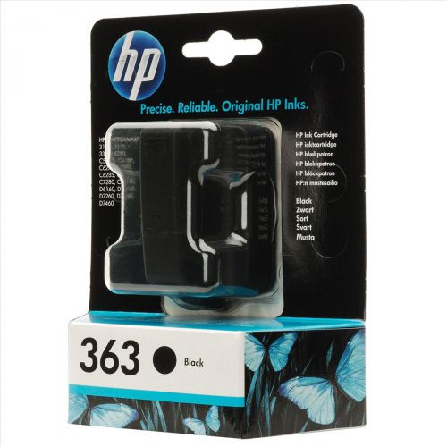 Hewlett Packard [HP] No.363 Inkjet Cartridge Page Life 410pp 6ml Black Ref C8721EE