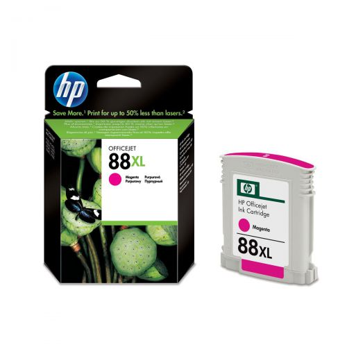 Hewlett Packard [HP] No.88XL Inkjet Cartridge Page Life 1980pp 17.1ml Magenta Ref C9392AE