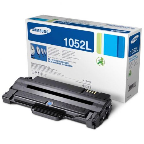 Samsung MLT-D1052L Laser Toner Cartridge High Yield Page Life 2500pp Black Ref SU758A