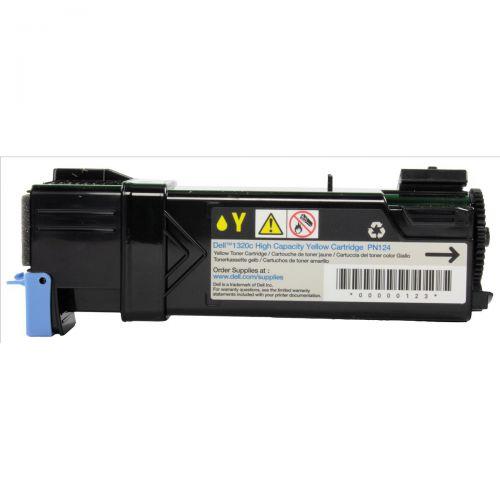 Dell KU054 Laser Toner Cartridge Page Life 2000pp Yellow Ref 593-10260