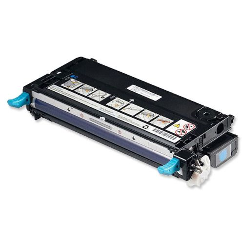 Dell XG726 Laser Toner Cartridge Page Life 4000pp Cyan Ref 593-10166
