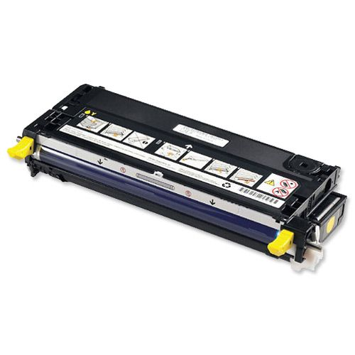 Dell XG728 Laser Toner Cartridge Page Life 4000pp Yellow Ref 593-10168