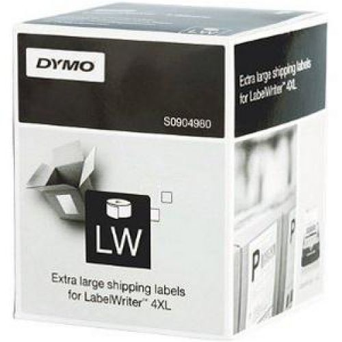 Dymo 4XL Labels 104x159mm [for Labelwriter 4XL] White Ref S0904980 [220 Labels]