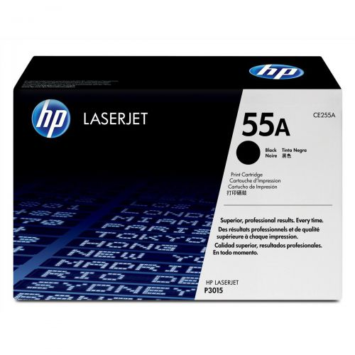 Hewlett Packard 55A Laser Toner Cartridge Page Life 6000pp Black Ref CE255A