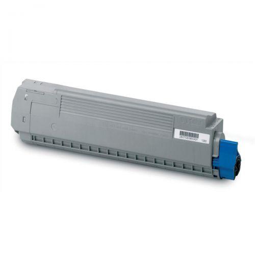 Oki Laser Toner Cartridge Page Life 10000pp Cyan Ref 44059211