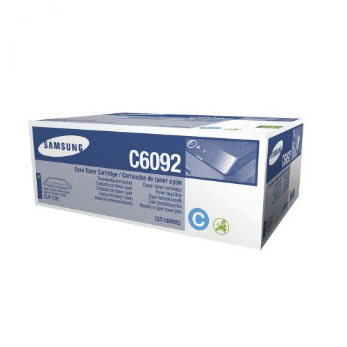 Samsung CLT-C6092S Laser Toner Cartridge Page Life 7000pp Cyan Ref SU082A