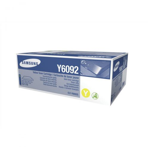 Samsung CLT-Y6092S Laser Toner Cartridge Page Life 7000pp Yellow Ref SU559A