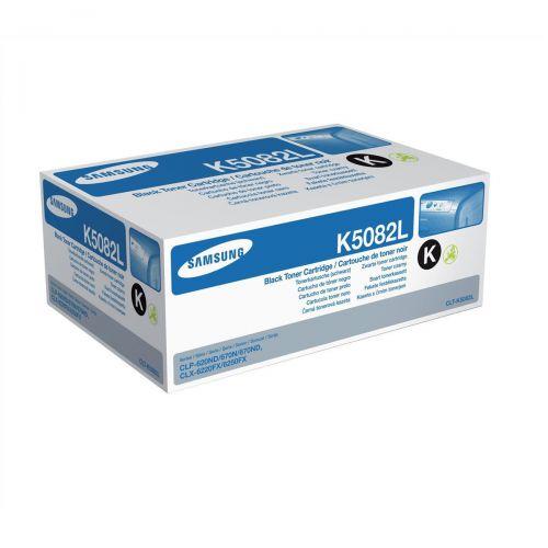 Samsung CLT-K5082L Laser Toner Cartridge High Yield Page Life 5000pp Black Ref SU188A