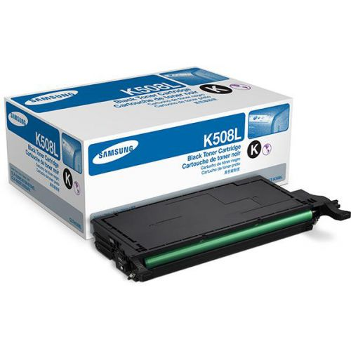 Samsung CLT-K5082L Laser Toner Cartridge High Yield Page Life 5000pp Black Ref SU188A