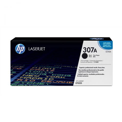 HP 307A Laser Toner Cartridge Page Life 7000pp Black Ref CE740A