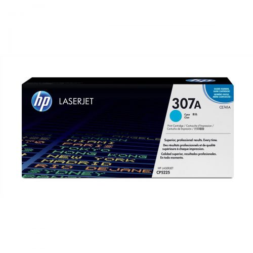 HP 307A Laser Toner Cartridge Page Life 7300pp Cyan Ref CE741A