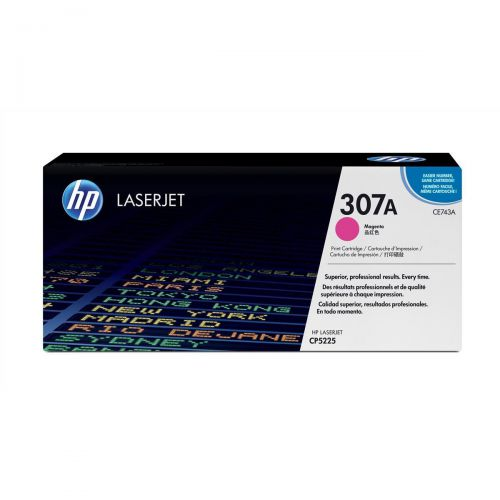 HP 307A Laser Toner Cartridge Page Life 7300pp Magenta Ref CE743A