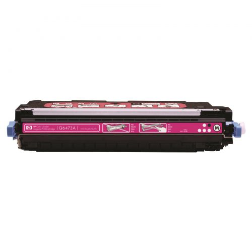 HP 502A Laser Toner Cartridge Page Life 4000pp Magenta Ref Q6473A