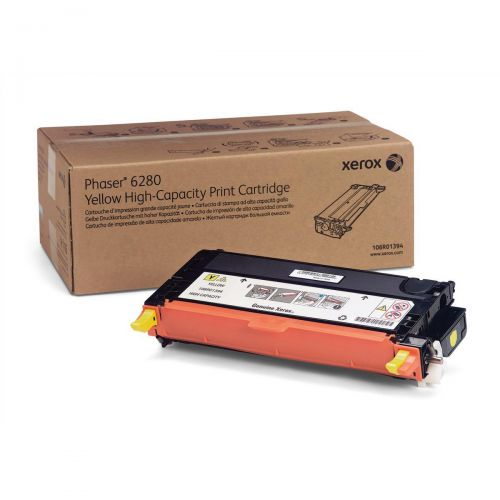 Xerox Phaser 6280 Yellow Toner 106R01394