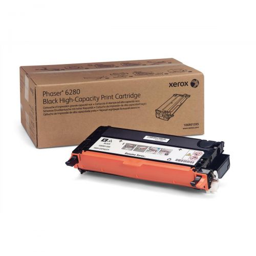 Xerox Laser Toner Cartridge High Yield Page Life 7000pp Black Ref 106R01395