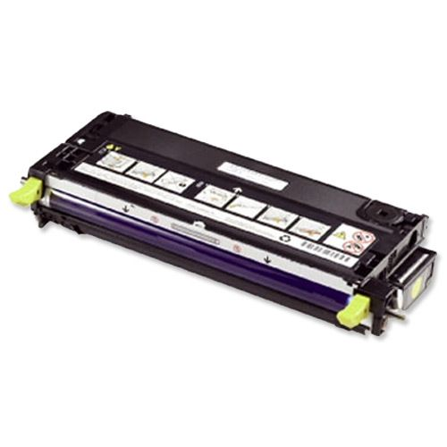 Dell G485F Laser Toner Cartridge High Yield Page Life 9000pp Yellow Ref 593-10291