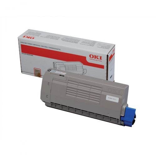 OKI Laser Toner Cartridge High Yield Page Life 11000pp Black Ref 44318608
