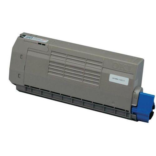 OKI Laser Toner Cartridge High Yield Page Life 11000pp Black Ref 44318608