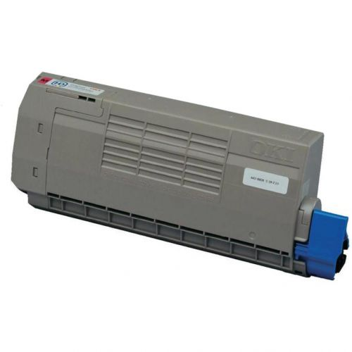 OKI Laser Toner Cartridge High Yield Page Life 11000pp Magenta Ref 44318606